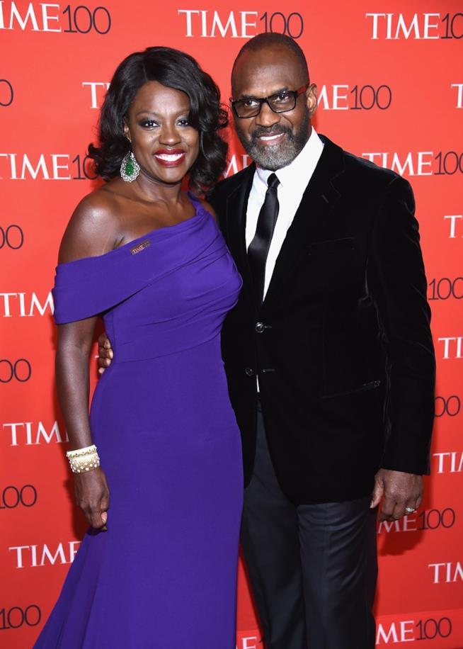 Julius Tennon e Viola Davis sul red carpet
