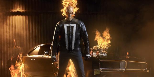 Ghost Rider e la sua fiammante Charger si preparano a fare giustizia