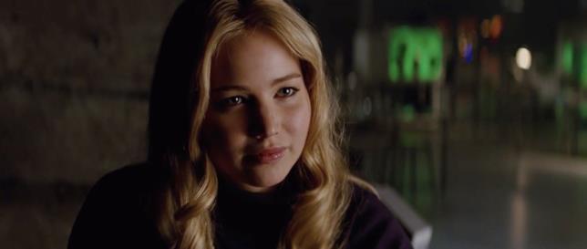 Jennifer Lawrence in una scena del film