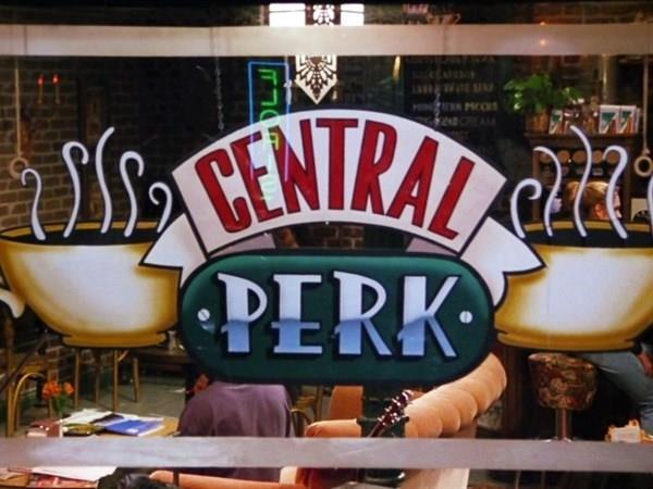Lo storico Central Perk di Friends
