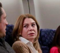 Meredith Grey in aereo