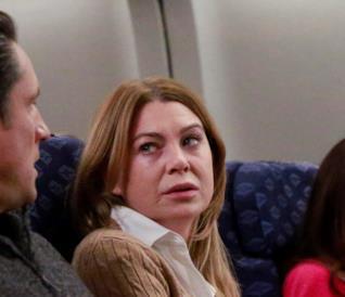 Meredith Grey in aereo