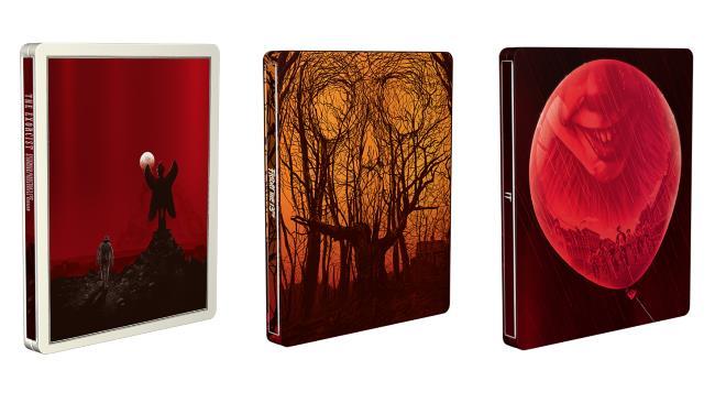 I tre horror della collezione Mondo x SteelBook