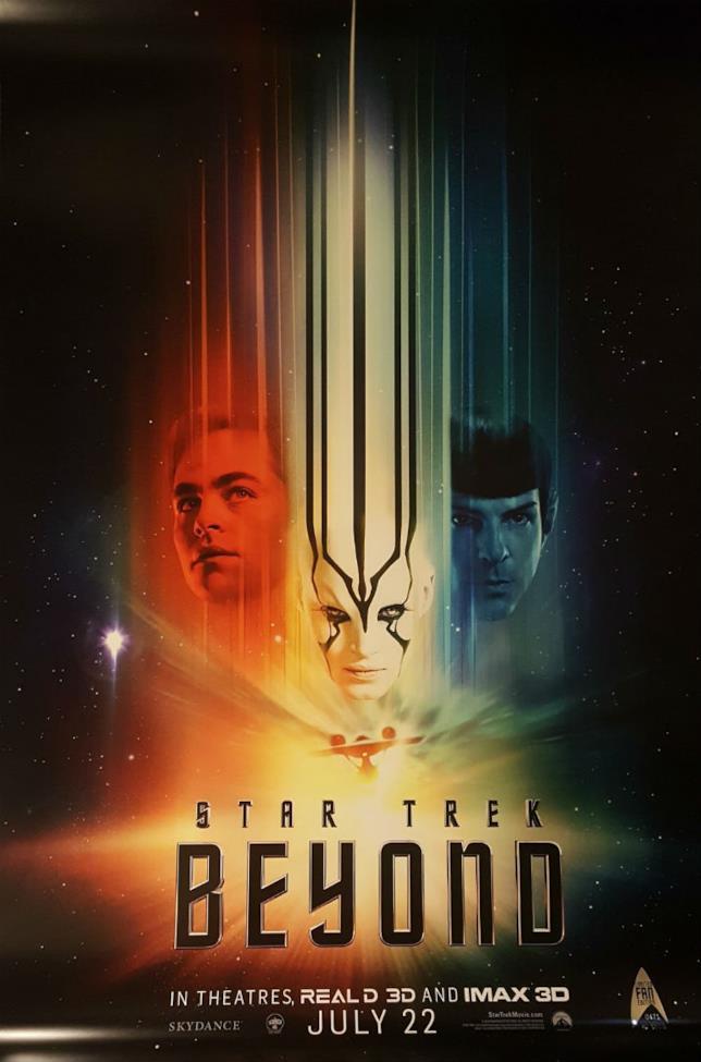I colori s'impadroniscono delle nuove locandine di Star Trek