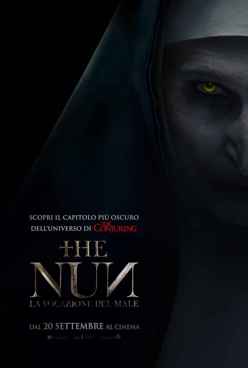 Il poster italiano di The Nun - La vocazione del male