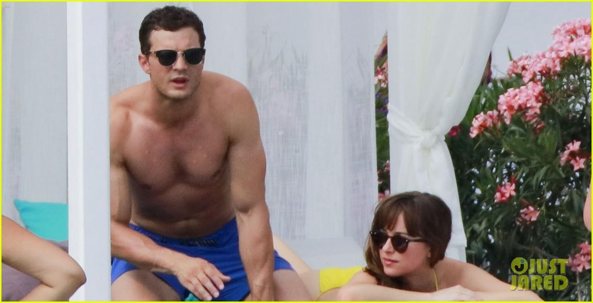 Costa Azzurra: Jamie Dornan e Dakota Johnson sul set