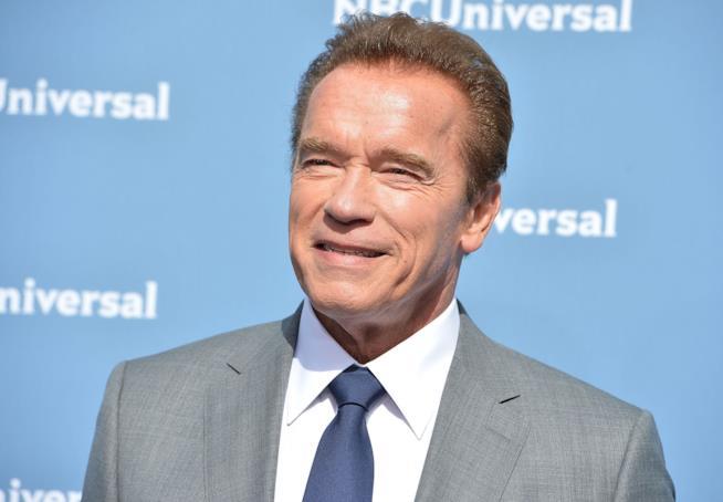 Primo piano di Arnold Schwarzenegger