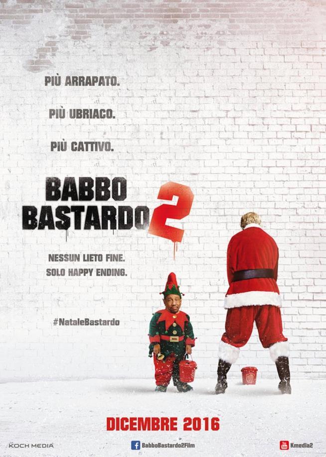 Babbo Bastardo 2 il poster con