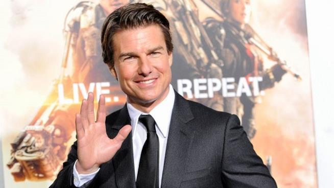 Tom Cruise alla presentazione del film Edge of Tomorrow
