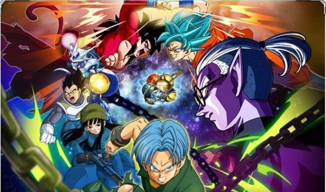 Dragon Ball Heroes poster della saga