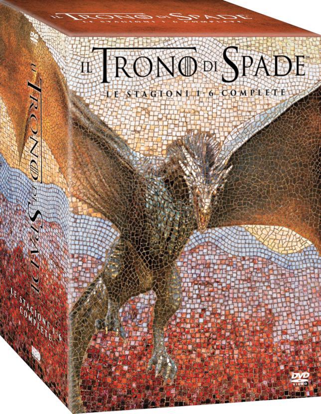 Il Trono di Spade DVD Stagioni 1-6