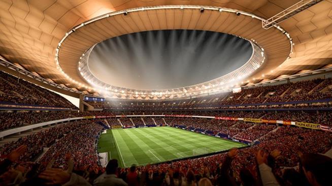 Uno degli stadi di FIFA 18