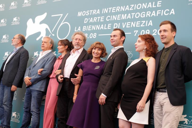 Il cast di Gloria Mundi
