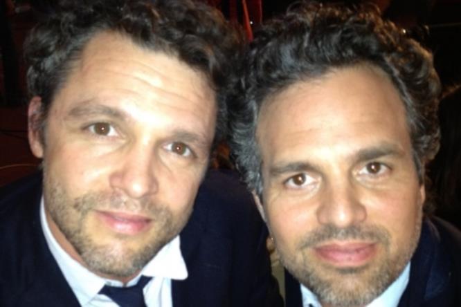Attori Marvel e i loro stunt double: Anthony Molinari e Mark Ruffalo (Hulk)