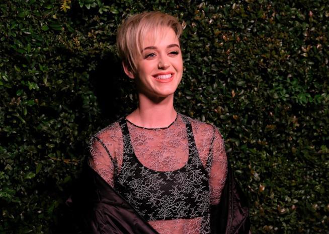 Katy Perry in una delle sue ultime apparizioni pubbliche