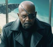 Primo piano di Nick Fury