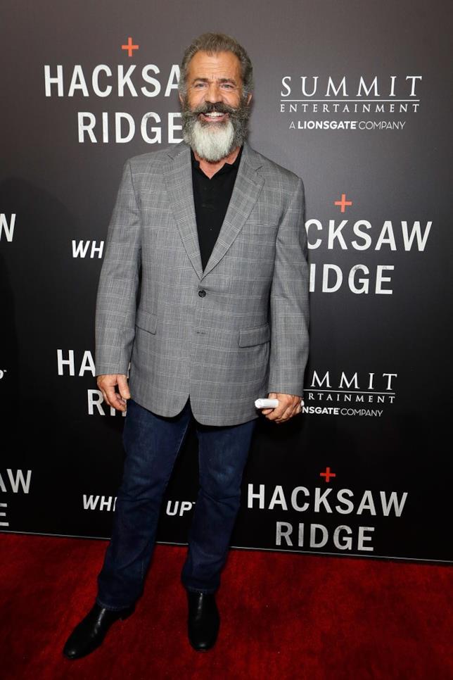 Mel Gibson presenta Hacksaw Ridge