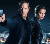 Matt Damon e Alicia Vikander