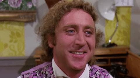 Gene Wilder è Willy Wonka