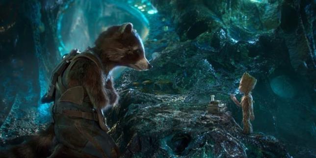 Un'immagine da Guardiani della Galassia Vol. 2