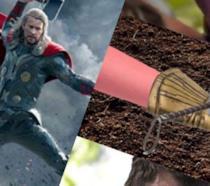 Thor sconfigge Thanos con Mjölnir