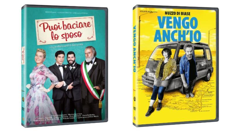I DVD di Puoi baciare lo sposo e Vengo anch'io