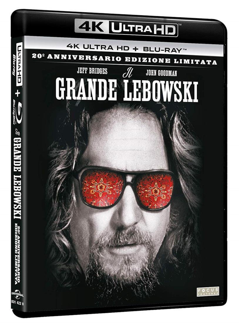 Packshot de Il grande Lebowski in 4K