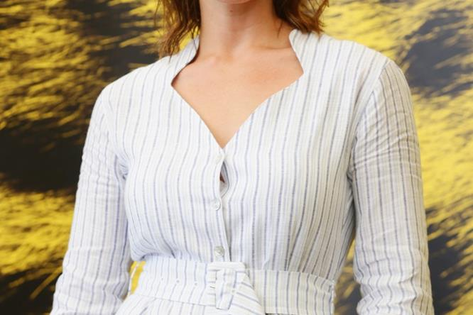 Gemma Arterton posa a Locarno 2016