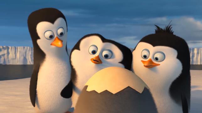 Scena de I pinguini di Madagascar