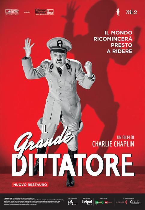 Poster di Il Grande Dittatore di Chaplin