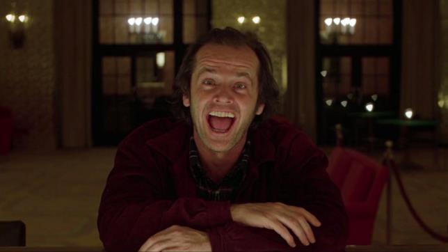 Shining: Jack Nicholson