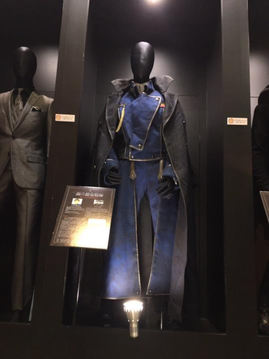 Il costume di Roy Mustang nel live-action