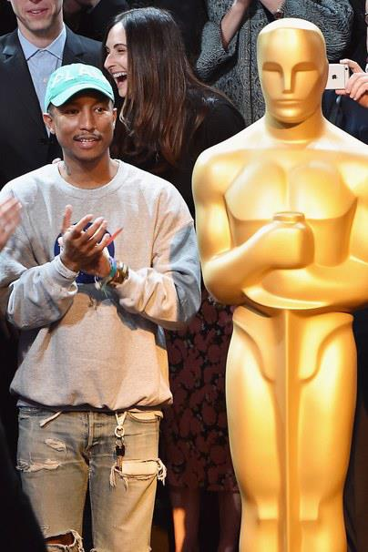 Pharrell Williams agli Academy Awards Nominees Luncheon