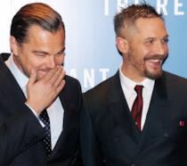 Leonardo DiCaprio e Tom Hardy insieme