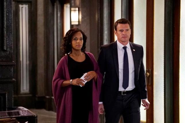 Oliva Pope e Jake Ballard in una scena del quinto episodio di Scandal 6