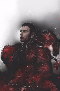 Magneto nel poster dedicato ai 4 cavalieri di Apocalisse