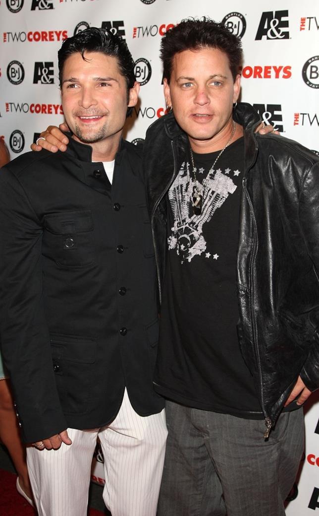 Corey Feldman e Corey Haim negli anni in cui lavoravano insieme