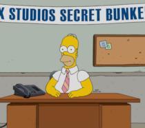 Homer Simpson in una scena de I Simson