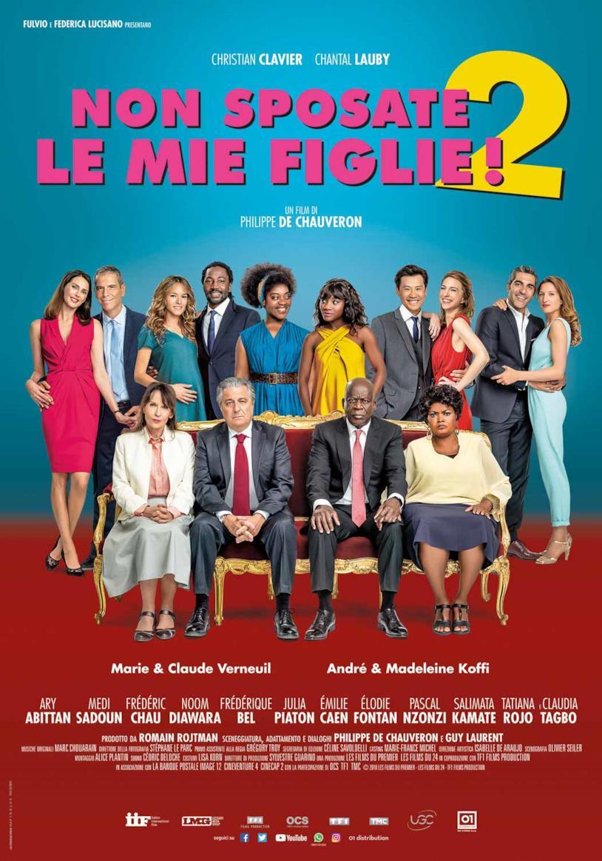La locandina della commedia francese Non sposate le mie figlie 2