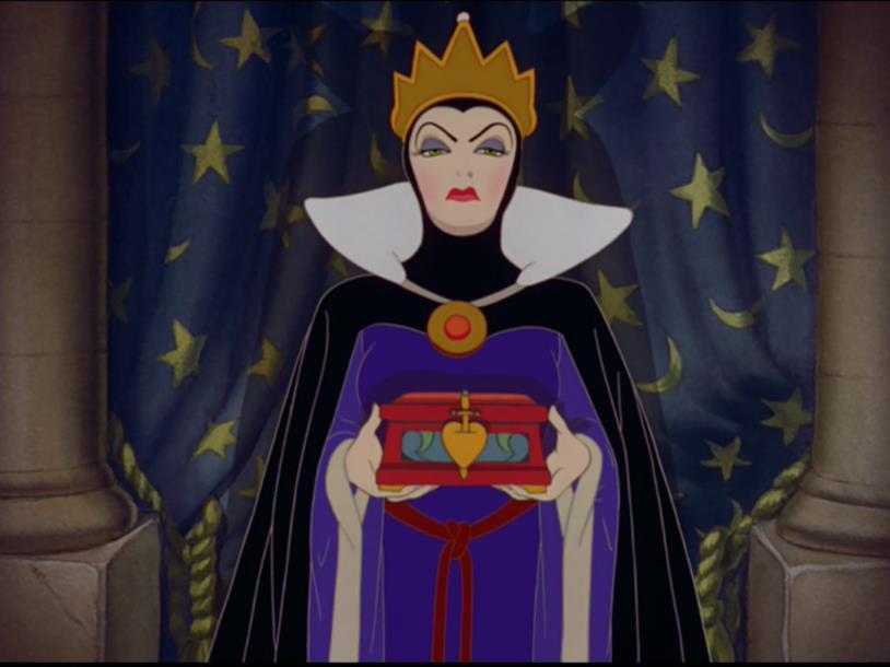Grimile in una scena di Biancaneve e i sette nani