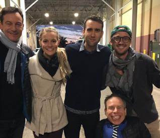 Malfoy e Longbottom insieme per una mini-reunion di Harry Potter!