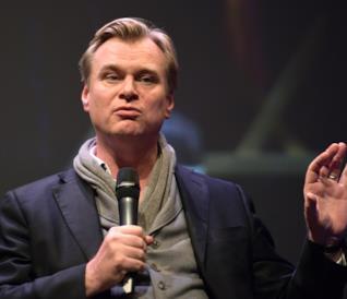 Christopher Nolan a un evento pubblico
