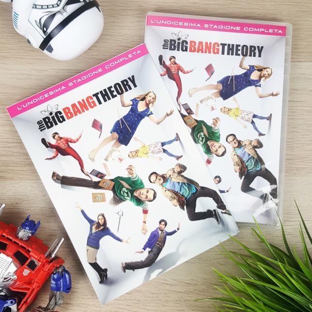 Il cofanetto DVD di The Big Bang Theory 11