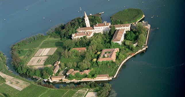 Veduta aerea dell'isola