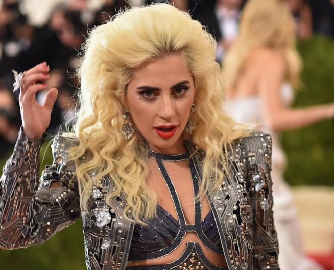 Primo piano di Lady Gaga