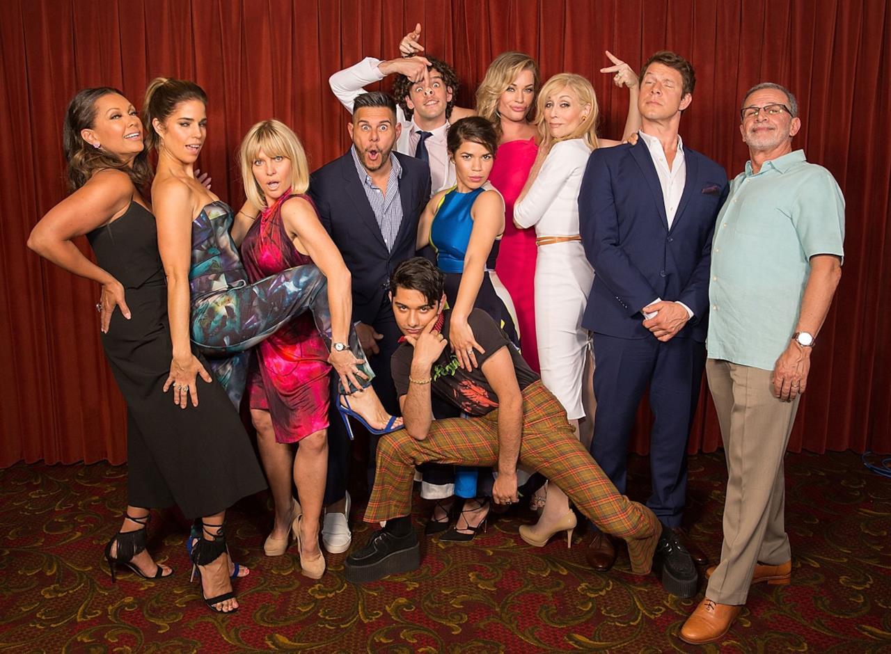 Una posa divertente per il cast di Ugly Betty