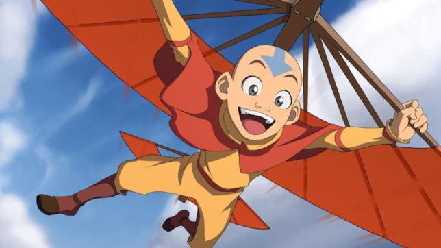Una sequenza di Avatar - La Leggend di Aang