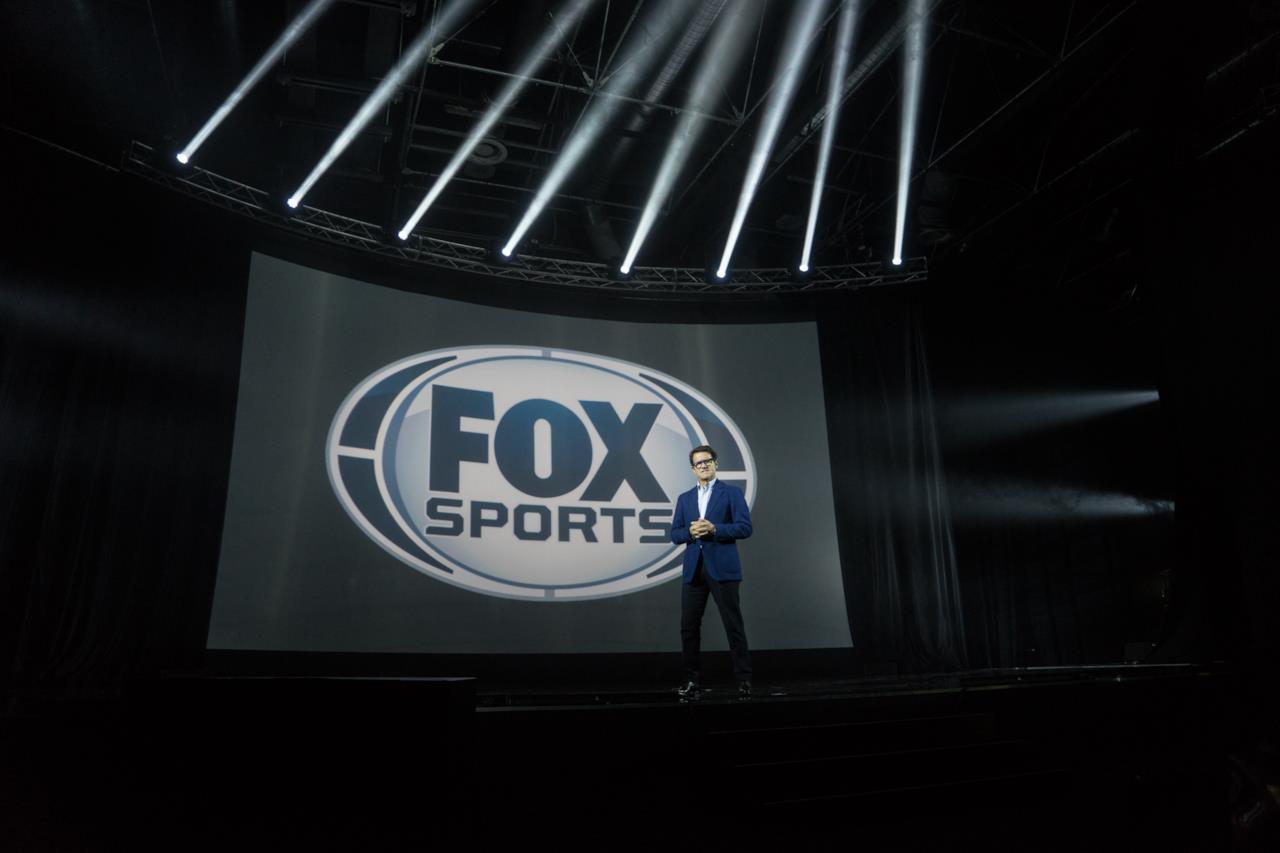 Fabio Capello ha presentato l'offerta di FOX Sports sul palco dei FOX Screenings