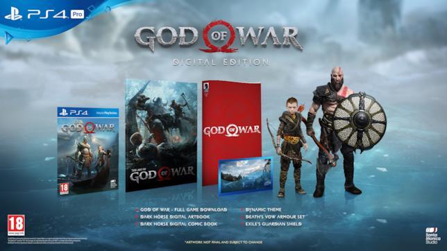 La Digital Edition di God of War