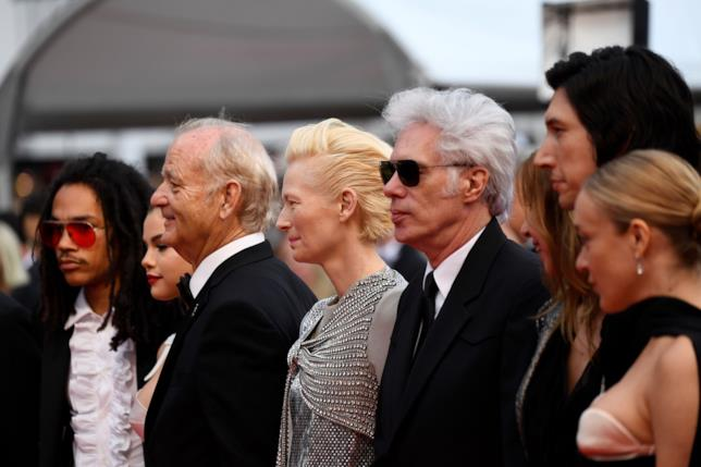 The Dead Don't Die: il cast e il regista sul red carpet di Cannes